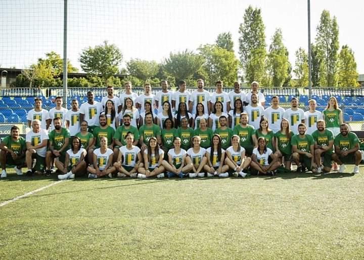 Seleções Brasileiras em Roma na Copa do Mundo 2019