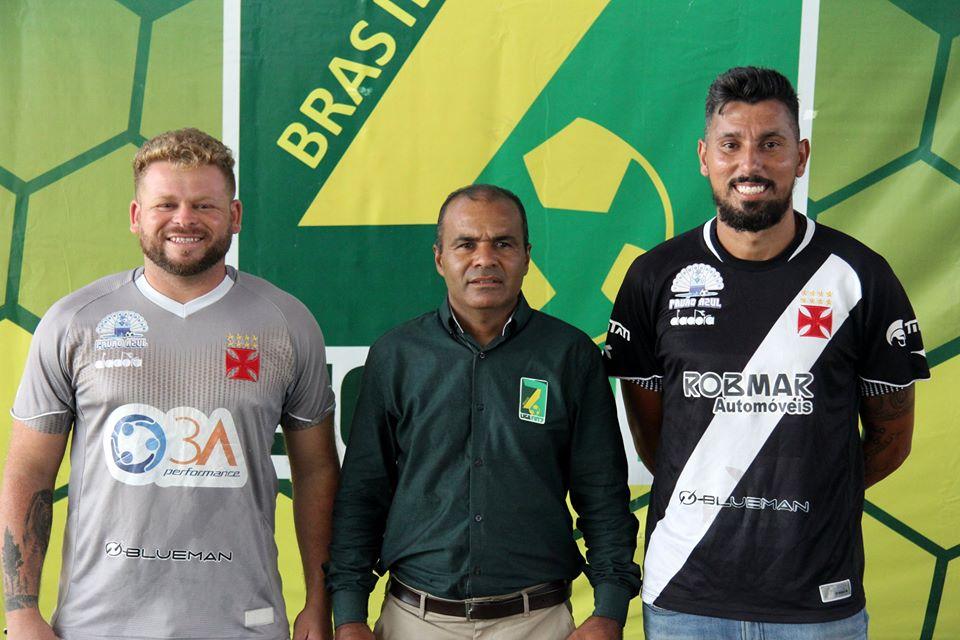 Bruno Gomes, Wanderlei Ramos e o técnico Marquinhos