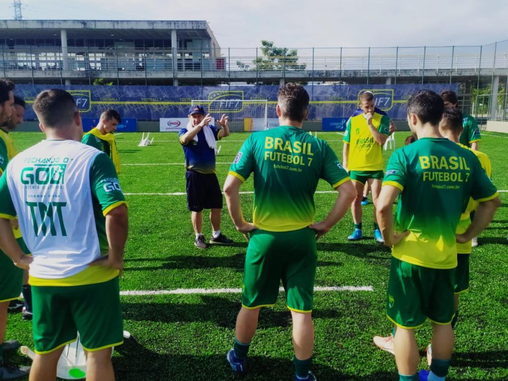 A Seleção Brasileira segue preparação intensa em Vitória (ES)