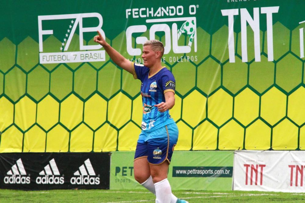 A maior artilheira do Brasil vem acumulando prêmios.